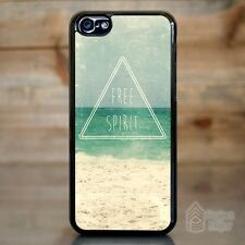 Case Cover for Apple iPhone 5c Free Spirit Hipster Indie Hippie Ocean Triangle