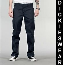 DICKIES 873 Slim Straight Work Pant DN Dark Navy lange Hose Blau Marine O-Dog