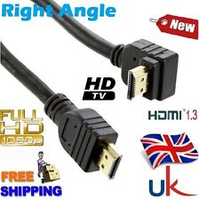 Gold Plated HDMI to M Right Angled Cable 50cm 1M 1.5M 2M 2.5M 3M 5M 6M 7M 8M 10M