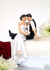 'So much in love'Elegant Looking With Love Bride & Groom Wedding Cake Topper New