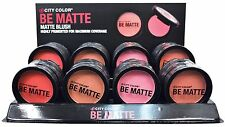 City Color Be Matte Blush 12 Colors Get 4 in 1 and Save More on Shipping