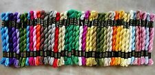 DMC Perle Cotton Skeins Size 3 and 5- Multiple Colors 518 - 776