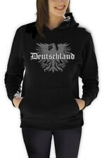Deutschland Eagle Women Hoodie Fleece Germany Fan Soccer Football World Cup 2015