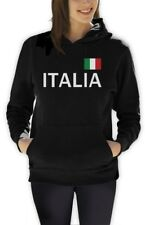 Italy Soccer Women Hoodie National Soccer Team Italia Flag World Cup 2014 Fleece