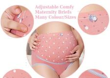 Maternity Pregnancy Knicker Underwear Over Bump Support Tummy Cotton Panty Brief