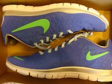 NEW WOMEN NIKE FREE TR FIT 3 Violet Poison Silver 555158 501 Size 7.5,8.5,10