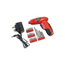 Rechargeable Cordless Electric Screwdriver Set Kit Bit Reversible Battery Drill