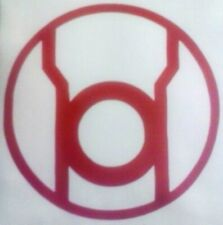 Red Lantern Corps Vinyl Sticker Decal home laptop choose size and color