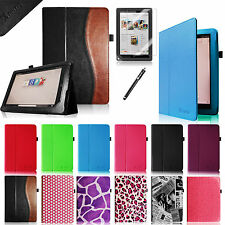 Leather Case Cover/Pen/Protector for Barnes & Noble Nook HD+ 9 inch Auto On/Off