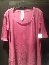 Free People XS S M L Melrose Swing Tee Grey White Blue Green Pink Rose NWT Top