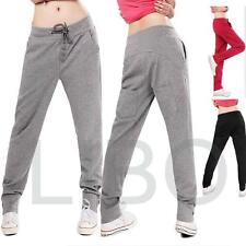 Women's pencil Hip-Hop Yoga Sweat Pants Casual Drawstring Stretchable Trousers