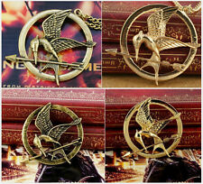 The Hunger Games Mockingjay Steel Bird Brooch Pin Necklace Pendant High Quality