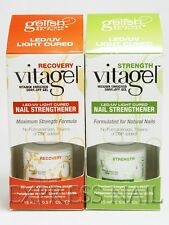 Nail Harmony LED UV Vitagel 15 ml / .5 oz Choose of Recovery or Strength .5oz