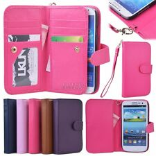 PU Leather Women Handbag Cash Wallet Case for Samsung Galaxy S3 S4 S5 Note 2
