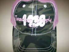 Camoflauge Baseball hats.. adjustable.  real tree camo. Tractor supply com.