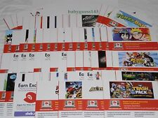 Club Nintendo Codes / PINs / Coins (from Nintendo 3DS) [2 of 2] *CLEARANCE SALE*