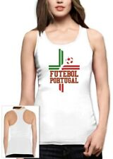 Futebol Portugal Flag Racerback Tank Top World Cup National Team Soccer Football