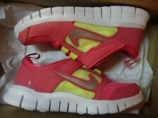 New Girls Nike Free Run 3 (PSV) 512100 600 Shoes Size 12C~3Y