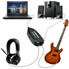 Electric Guitar to USB Audio Link Cable For MAC/PC MP3 Music Recording Adapter