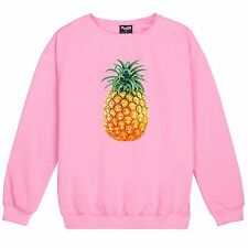 PINEAPPLE SWEATER TOP TSHIRT FRUIT FOOD HIPSTER SWAG WOMENS DOPE FRESH TUMBLR **
