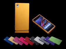 New Ultra-Thin Metal Aluminum Cell Phone Case cover skin for Sony Xperia Z1 L39h