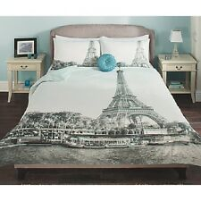 Paris Photographic Duvet Cover Set - Single,Double,King Size