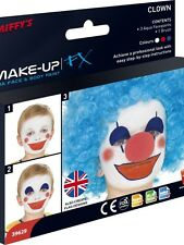 Unisex Clowns & Flags Make Up Face Body Paint Kit Fancy Dress Kid Party Festival