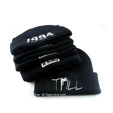 Men's Women's Hip-Hop Beanies Streetwear Hat Warm Winter Cotton Knit Fashion Hat