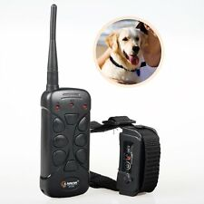 Aetertek AT-215 Rechargeable Dog Pet System Vibrate Shock Training Collar Remote