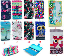 Cute Fashion Flip Wallet Book Leather Case Cover Stand For iphone/Samsung/Sony