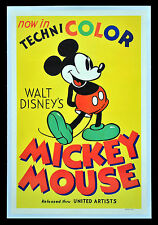 63 Vintage Movie Art Poster  Mickey Mouse  *FREE POSTERS