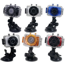 DVR Helmet Waterproof HD Action Camera Sports Outdoor Camcorder DV Digital Video