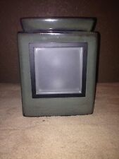 NIB Scentsy Cube Moss Gallery Warmer with your choice of 1 magnetic frame