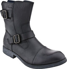 Men's Kenneth Cole Reaction Work Week Black Zip On Engineer Boot