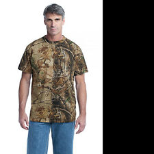 RUSSELL REAL TREE CAMO CAMOUFLAGE T-SHIRT Men's REAL TREE T-SHIRT