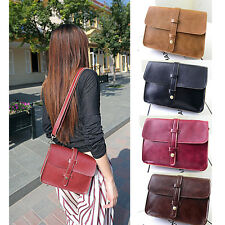 Fashion Retro Women Lady Handbag Messenger Purse Bags PU Satchel