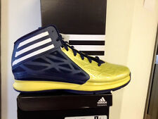 Adidas Crazy Fast 2 Limited Edition Sneakers New, Navy Yellow D74217 Crazy light