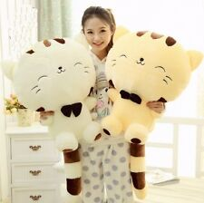 "11""-18"" Large Cute Soft Plush Stuffed Toys Doll Cushion Fortune Cat Pillow ×1Pcs"