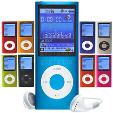 New 1.8 Inch Screen 4GB MP3 MP4 MP5 Video  Player With FM Radio Recorder Game