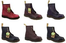 Dr Doc Martens Airwair 1460 Vegan Vegetarian Synthetic Leather Boots NEW