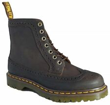 Dr Doc Martens 7 Eye Fitzroy Gaucho Crazy Horse Brogue Leather Boots