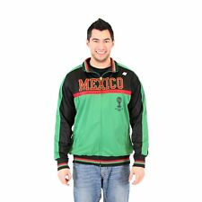 Adult Men's 2014 FIFA World Cup Soccer Hat Trick Mexico Yoke Track Jacket