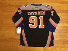 New John Tavares # 91 New York Islanders Reebok Youth Replica Black NHL Jersey