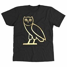 OVO GOLD OWL DRAKE OVOXO THE WEEKND HIP HOP MUSIC COOL MENS T-SHIRT *S, M, L, XL