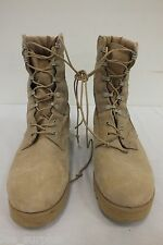 HOT WEATHER US MILITARY COMBAT BOOTS DESERT TAN VIBRAM SOLE MENS EXC