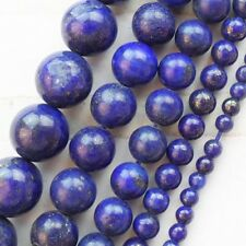 A Strand Lapis Lazuli Round Loose Bead 15.5 inch 4-12mm Y0051