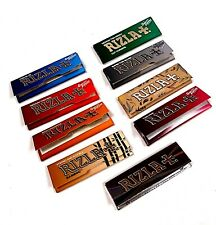 Rizla Red, Silver, Green, Green Smooth, Blue & Liquorice Standard Rolling Papers