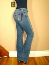 $178 Seven 7 For All Mankind A-Pocket Stretch Flare Jeans New Tahiti Medium 30