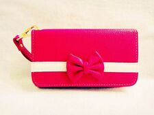 New 3D Cute Bowknot BOW girl Wristlet LEATHER WALLET POUCH PHONE CASE COVER  22