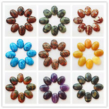 Beautiful 8pcs Mixed Stone Oval CAB CABOCHON Y0191
